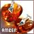 Fan of amber