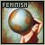 Fan of feminism