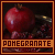 Fan of pomegranates